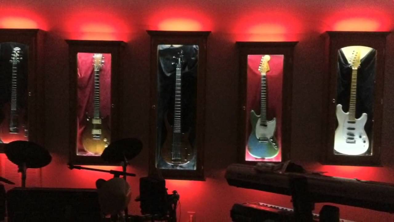 Guitar Cabinet Light Project Youtube