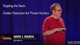Toppling the Stack: Outlier Detection for Threat Hunters - SANS Threat Hunting Summit 2017