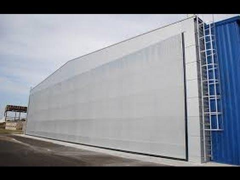 Mega cortinas plegables para hangares y bodegas con - Cortinas de lona para balcon ...