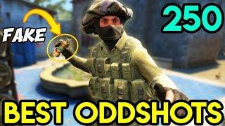 SMARTEST FAKE nade ! - BEST ODDSHOTS CS:GO #250