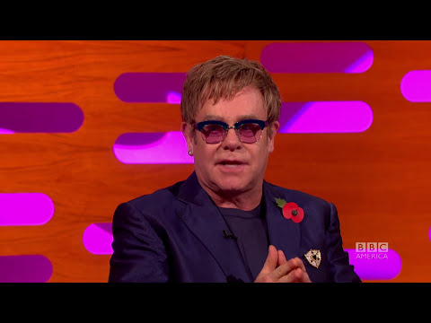 ELTON JOHN Calls Rod Stewart an A**hole - The Graham Norton Show on BBC AMERICA