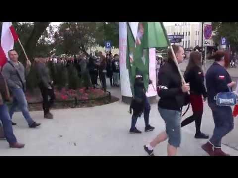 Marsz Antyimigrancyjny W Bydgoszczy