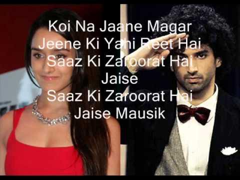 Aasqui 2 Sanson ki zaroorat 2013 with lyrics dj mix