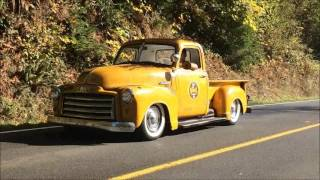 1949 GMC TRUCK BAGGED AIR RIDE
