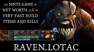 DOTA 2 - RAVEN.LOTAC   NAIX GAMEPLAY   DOTA PRO   COBX MASTERS GAME 1
