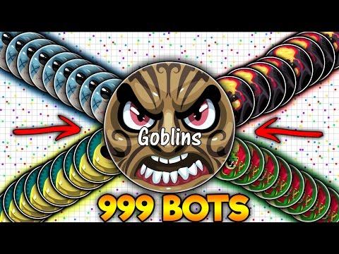 Agar.io - Goblins Hack 9999 Bots Funny Moments +200K (Agario)