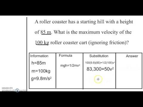 ADVANCED: Conservation of Energy 2