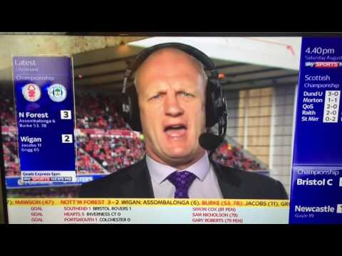 Classic Iain Dowie ? What's the score