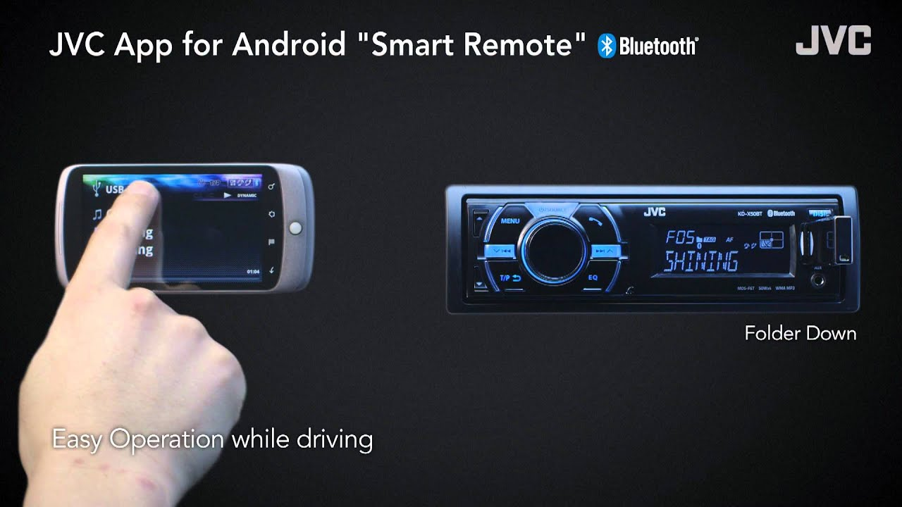 Jvc Smart Remote App For Android Youtube