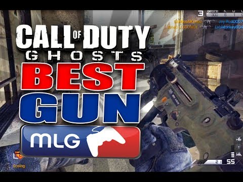 Call of Duty Ghosts Best Gun Based on Professional Player's Choices - Best Gun in Ghosts