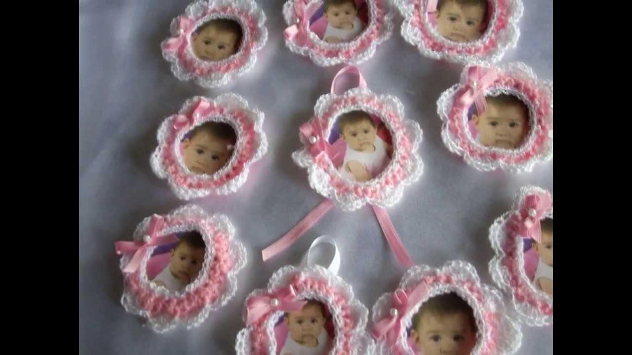 Portarretratos a crochet cumplea os bodas 15 a os - Recuerdos para cumpleanos ...