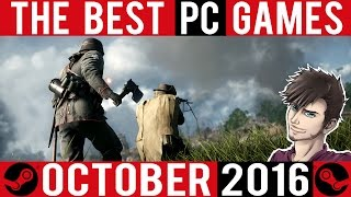 The Best Steam PC Games - October 2016