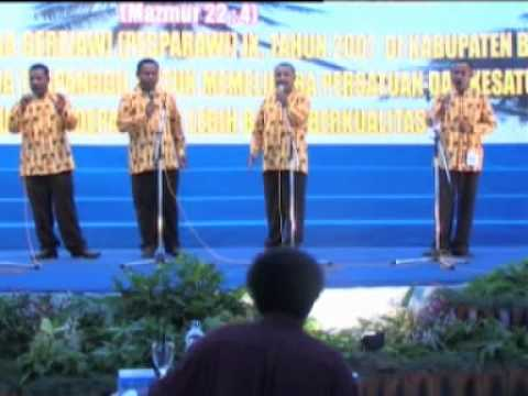 Kwartet Kab. Jayapura - Andai Surya Pagi Bersembunyi - Pesparawi IX Biak 2007