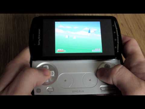 Android Xperia Play Retro Gaming Emulator Showcase
