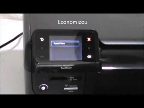 Reset Impressora HP D110