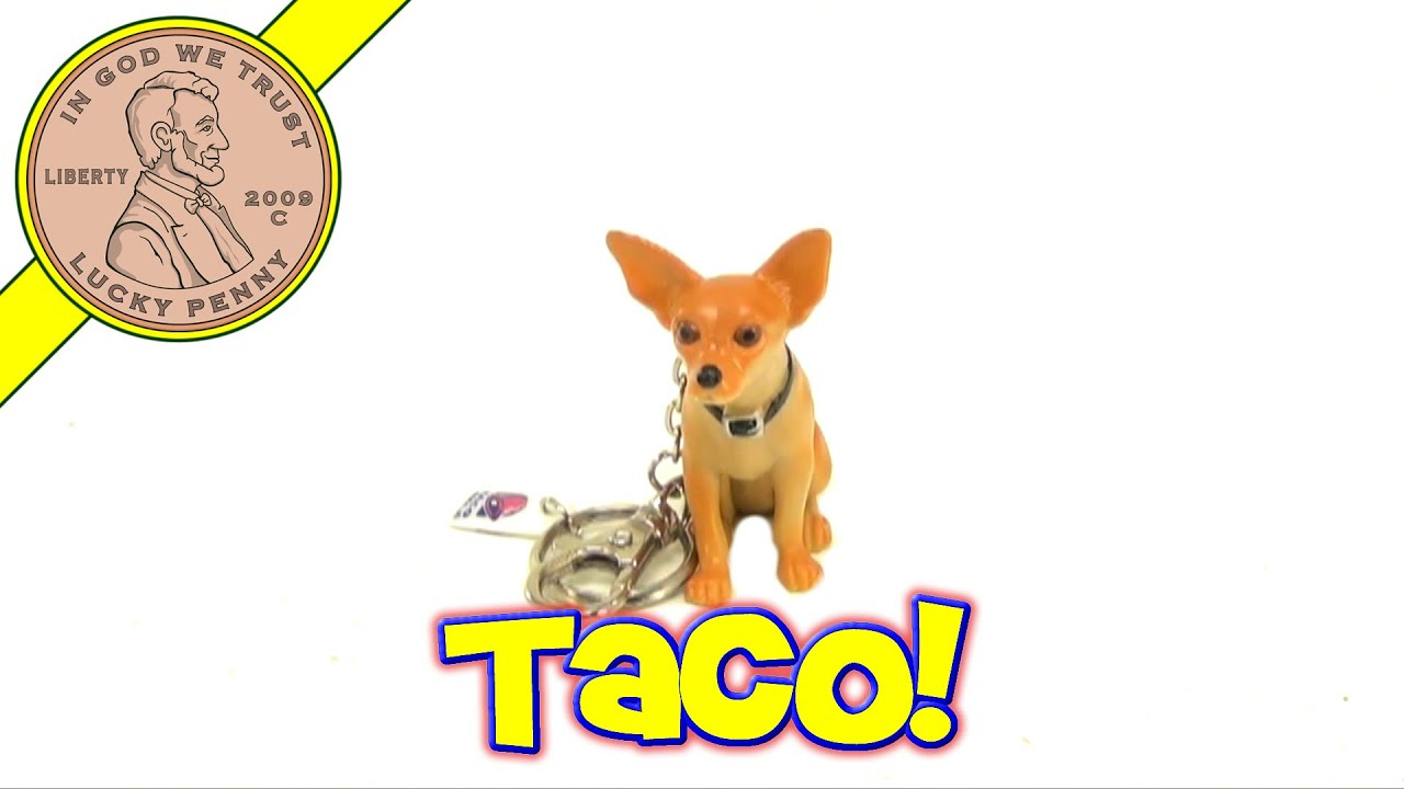 Toy Taco Bell Dog