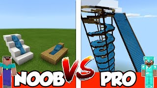 NOOB vs PRO - WATER PARK! - in Minecraft PE