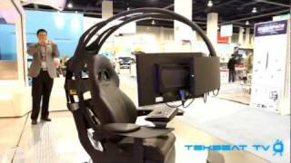 Emperor Gaming Computer Workstation - CES 2012