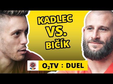 O2 TV Duel: Václav Kadlec a David Bičík hrají