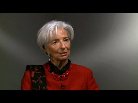 IMF chief Lagarde on Greece, China and the uneven global recovery