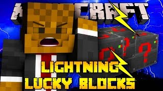 Minecraft ELECTRIC Lucky Blocks PYRAMID Mod