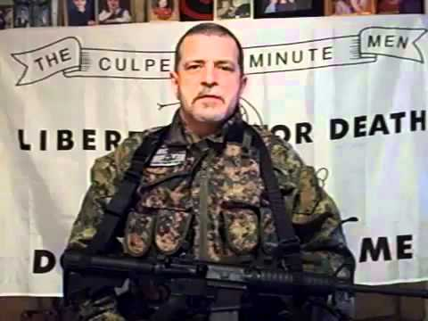 Message FROM the Militia to Civilians 2013 STAY STRONG STAND FIRM & UNITED !!!