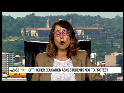 Higher Education Dept calls on students not to protest