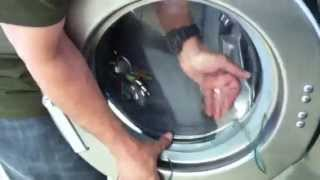 How to install Front load washer door glass in minutes Speed Queen