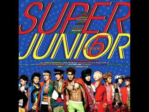Super Junior - Superman Audio video