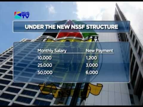 NSSF PROPOSES INCREMENT IN MEMBER CONTRIBUTIONS
