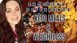 THE DIFFERENCE WAS SHOCKING  + WHAT I EAT IN A DAY KETO