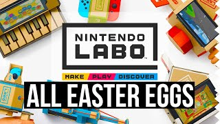 All Nintendo Labo Easter Eggs!