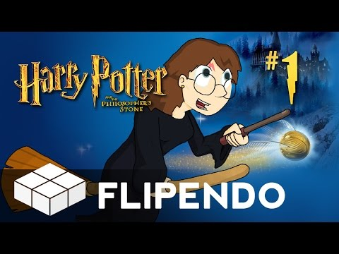 Lets Play - Harry Potter And The Philosopher's Stone #1 - Flipendo! video