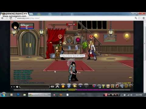 Aqw-Dark mystic purple How to spam Legion token.