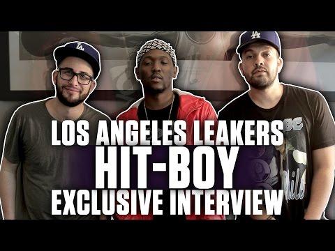 Hit-Boy (@Hit_Boy) Interview With L.A. Leakers (@djsourmilk) (@J_Credible)
