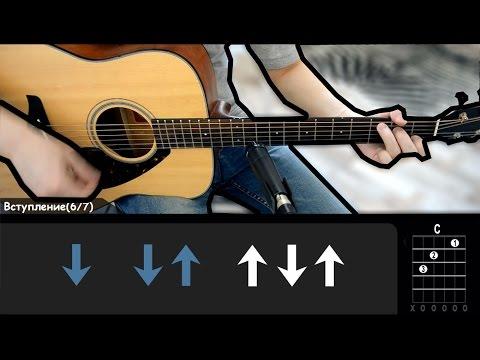 АГАТА КРИСТИ - КАК НА ВОЙНЕ (Как Играть На гитаре)