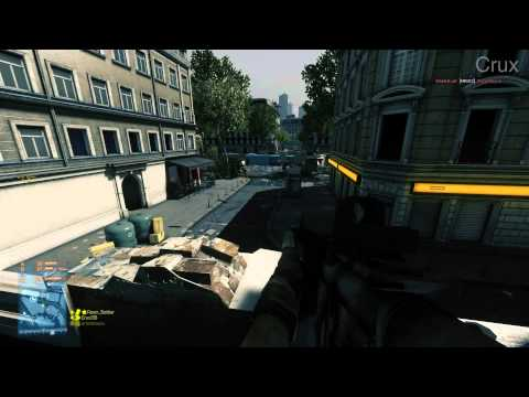 Battlefield 3 - Gameplay on GTX 460 SLI on Ultra Settings (1920x1080)