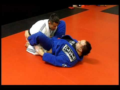 Jiu Jitsu Techniques - 4 Guard Pass Options / Lapel Choke Image 1