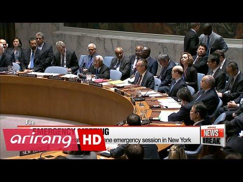 UN Security Council, White House denounce N. Korea missile launch