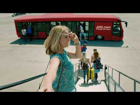 New advertising campaign from Jet2.com in UK