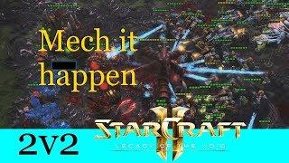 Mech it happen - Starcraft 2: Legacy of the Void 2v2 [Deutsch | German]