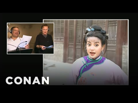 Conan & Andy Dub Over China s Most Popular Soap Opera - CONAN on TBS