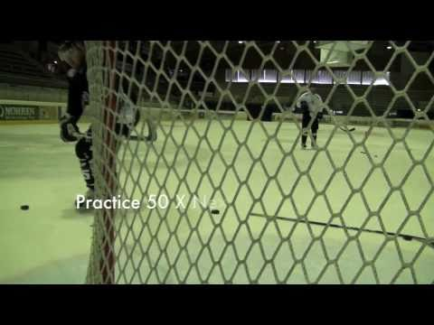 On Ice Hockey Practice to Score Goals in Tight - Drills & Training from the Pros