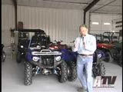 ATV Television Project - 2008 Yamaha Grizzly 700 Video