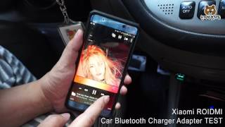 Xiaomi ROIDMI Car Bluetooth Charger Adapter TEST