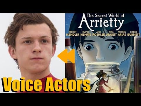 """The Secret World of Arrietty"" Voice Actors and Characters"