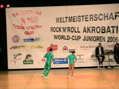 Jade Mandorino & Maurizio Mandorino - Weltmeisterschaft 2006