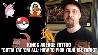 Which Pokemon Tattoo Will Become His First Tattoo?