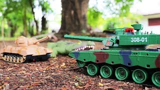 Toy Story | Crocodile & Tank Toys Battle , Construction Vehicles For Kids
