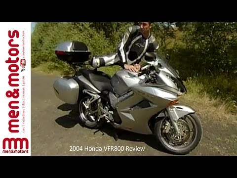 2004 Honda VFR800 Review